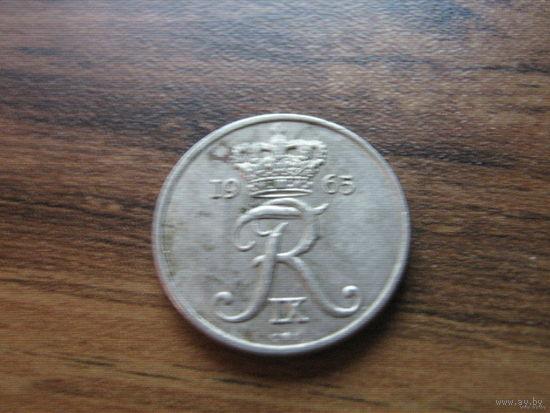 Дания 10 эре 1965