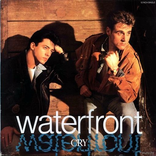 "12""single Waterfront - Cry (1989)"