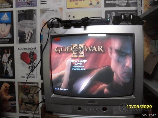 Sony PlayStation 2 прошитая + флэшка 32Гб с играми
