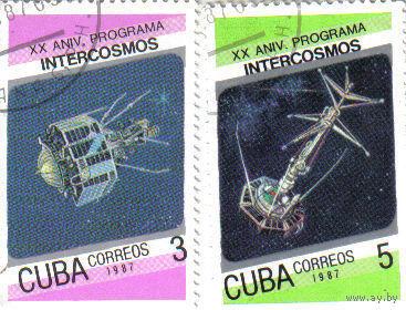 Куба 1987 Космос