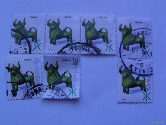 Украина марки Бычок распродажа
