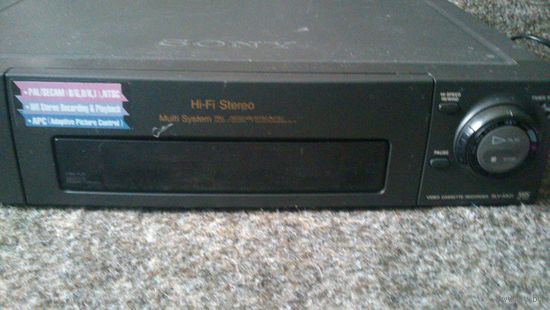 Видеомагнитафон Sony slv-x821