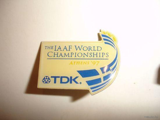 Значок на цанге TDK