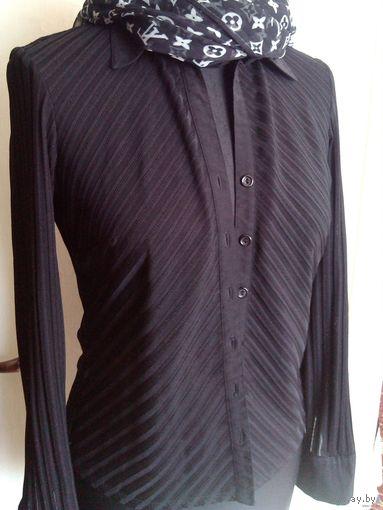 Стильная чёрная блузка NEXT, 42-44