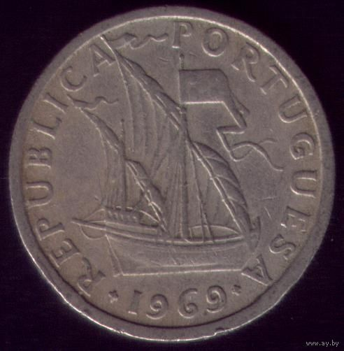 2.5 Эскудо 1969 год Португалия