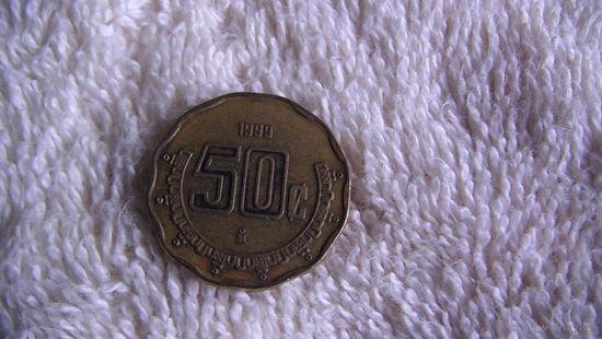 Мексика 50 центаво 1999г. распродажа