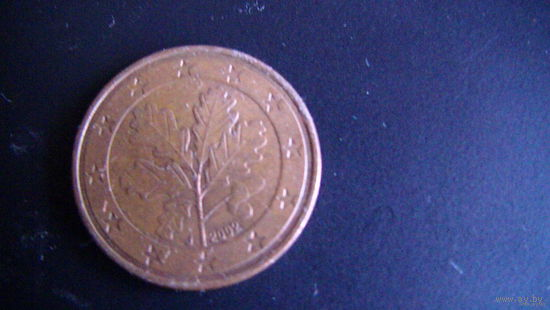 Германия 5 евро центов 2002 г. J   распродажа