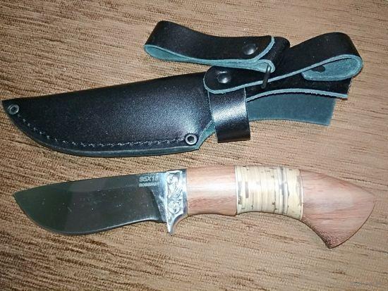 Нож Бурят-3, 95х18 кованый