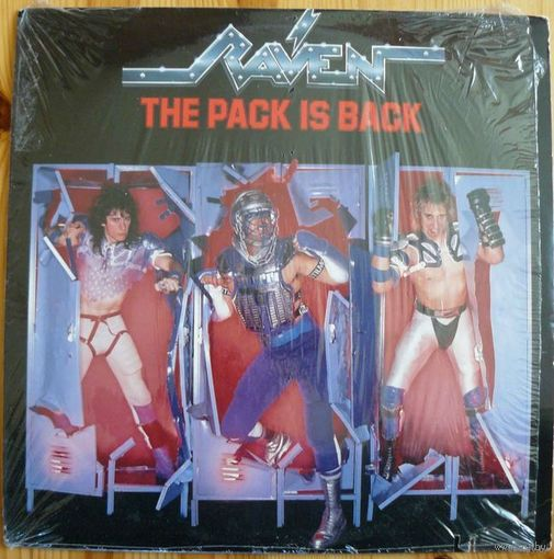 Винил Raven - The Pack Is Back (в упаковке!)