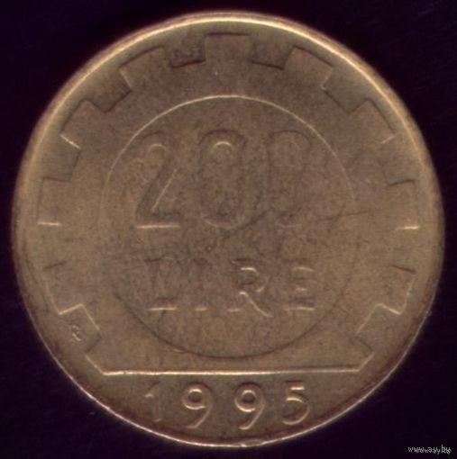200 Лир 1995 год Италия