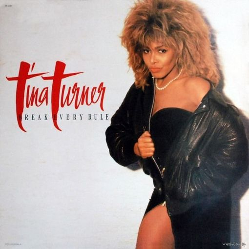 Tina Turner - Break Every Rule  - LP - 1986