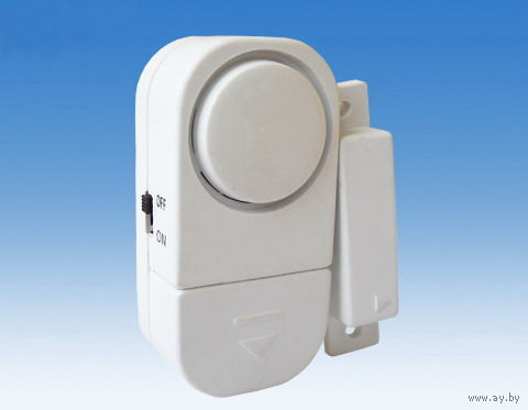 Сигнализация универсальная для дома, дачи и т.д. Очень громкий сигнал. Батарейки в комплекте. Новая в упаковке. Распродажа!