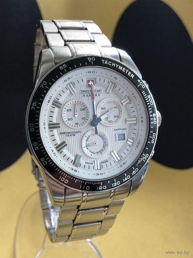 Швейцарские наручные часы Swiss Military Hanowa 06-5225.04.001 с хронографом, оригинал