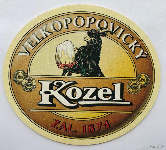 Подставка под пиво Velkopopovicky Kozel /Чехия/-2