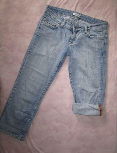 Капри джинсовые, р.42-44