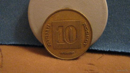Израиль 10 агор 1985