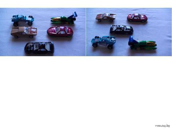 Модели. 5 спортивных машинок.  распродажа