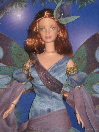 Кукла Барби/Barbie: Fairy of the Forest Barbie из серии The Enchanted World of Fairies фирмы Mattel, 2000 г.