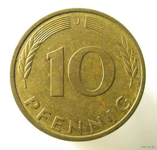 1994 10 пфеннигов купить 10 долларов сша
