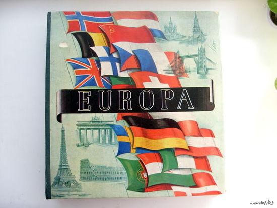 РАСПРОДАЖА!!! Альбом - каталог марок EUROPA с 1945 по 1961 год
