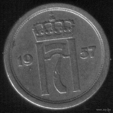 10 эре 1957 год Норвегия