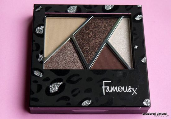 ТЕНИ/ПАЛЕТКА/НАБОР ТЕНЕЙ для век Famous By Sue Moxley High Five Eye Shadow Palette in Exposed
