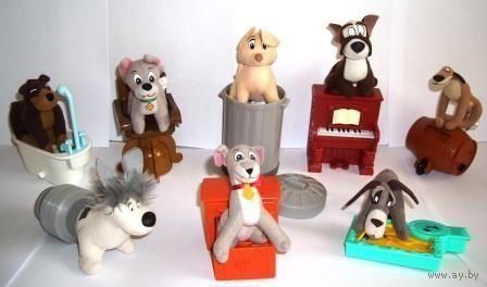 Серия собачек из Макдональдса