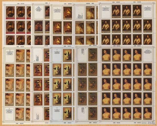 1982-84, ЭРМИТАЖ, 10 ЛИСТОВ **