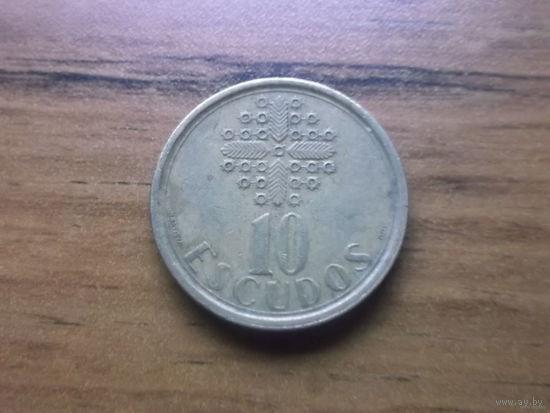 Португалия 10 эскудо 1988