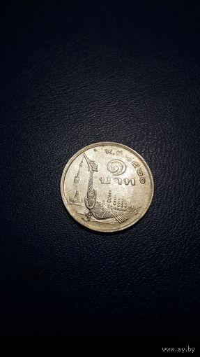 Таиланд - 1 бат 1977_Y#110 Король Рама IX