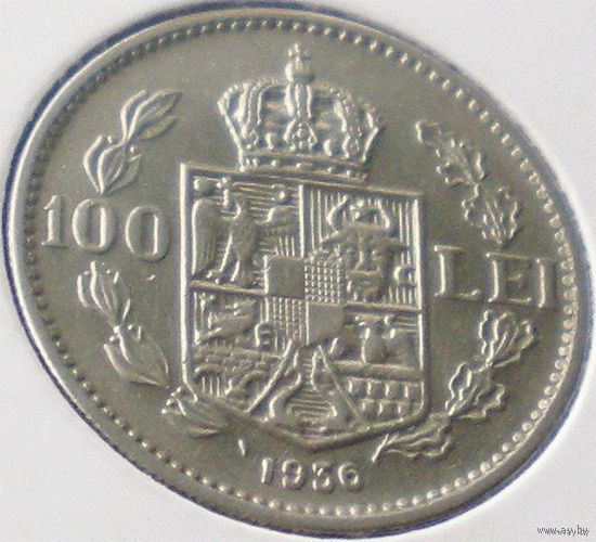 Румыния, 100 лей 1936 года