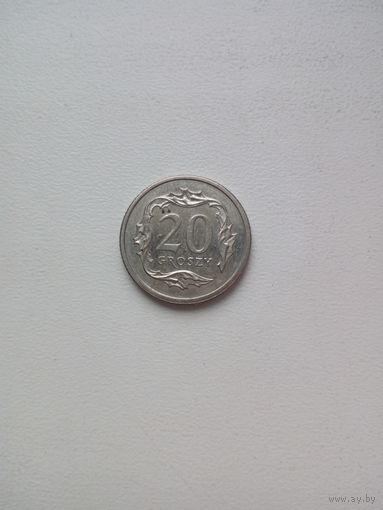 20 грош 2000г. Польша