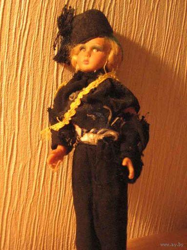 Кукла из папъе-машэ, времён ВОВ(Фаш.Германия