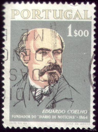 1 марка 1964 год Португалия Коэльо