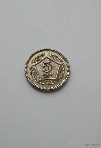 Пакистан / 5 рупий / 2003 год