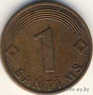 Латвия 1 сантим 1997 года    распродажа