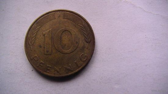 10 пфенингов фрг 1991г.  распродажа