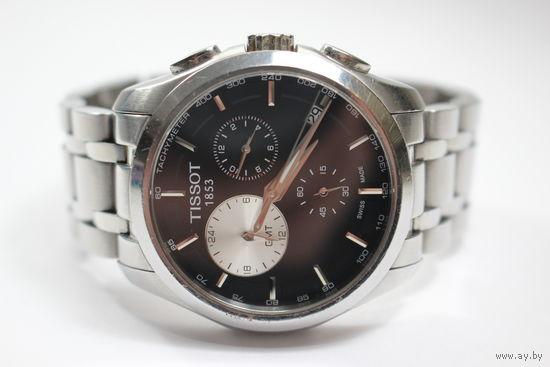 Наручные часы Tissot Couturier Quartz GMT (T035.439.11.051.00), Оригинал