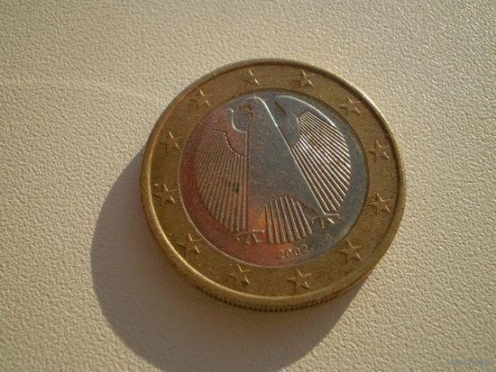 Германия 1 Евро 2002г. G   распродажа