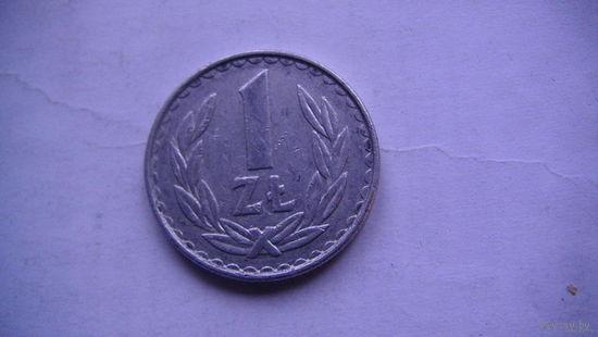 Польша 1 злотый 1983г распродажа