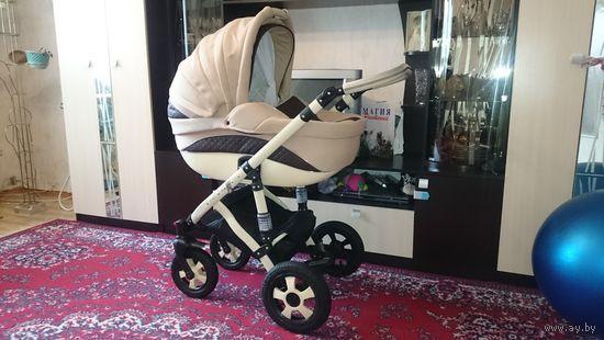 Детская коляска Anmar Bugatti (Анмар Бугатти), (2 в 1)