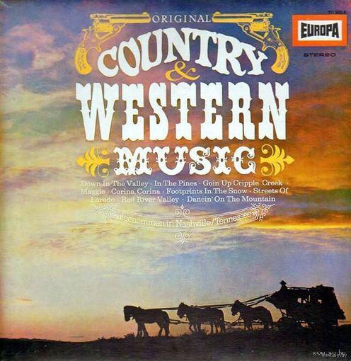 0319. The Nashville Gamblers. Original Country & Western Music. Europa (DE) = 10$