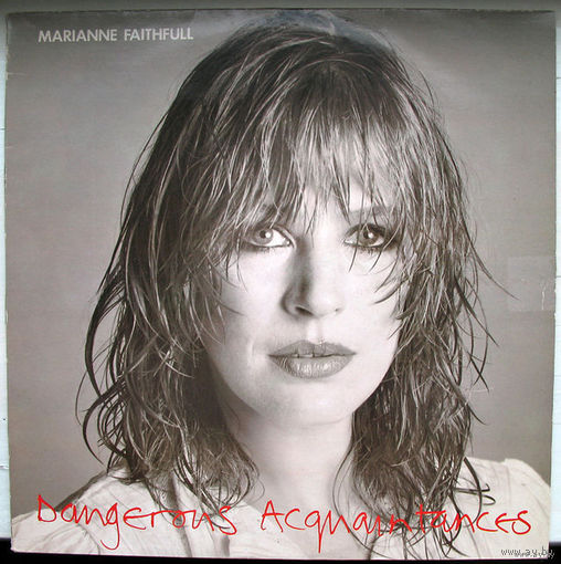 "Marianne Faithfull ""Dangerous Acquantances"" LP, 1981"