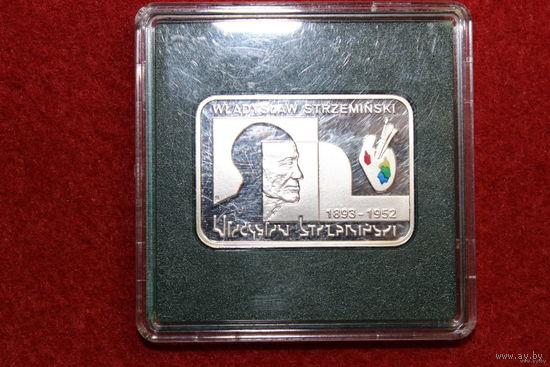 20 злотых - Polscy Malarze XIX/XX wieku - Wladyslaw Strzeminski (1893-1952) серебро 2009