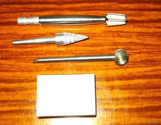 Инструмент медицинский (коллекция), лот No7: фреза - 4 вида