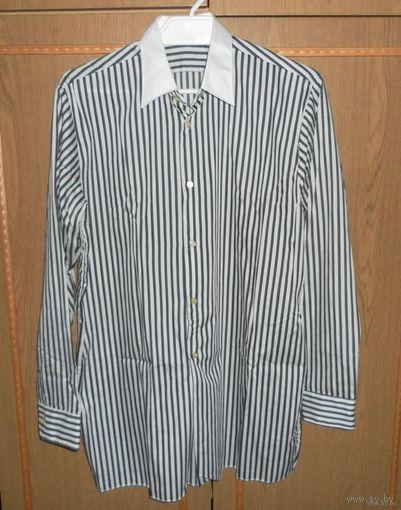 Рубашка (сорочка) мужская, размер 170-176, размер по вороту 39