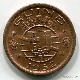 ГВИНЕЯ БИСАУ - 50 СЕНТАВО 1952