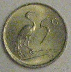 ЮАР, 5 центов, 1978