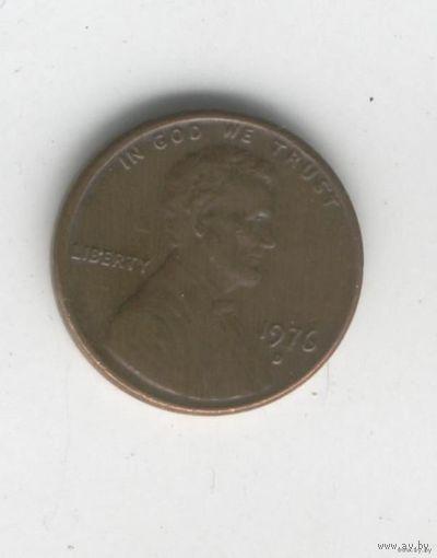США 1 цент 1976г D   распродажа
