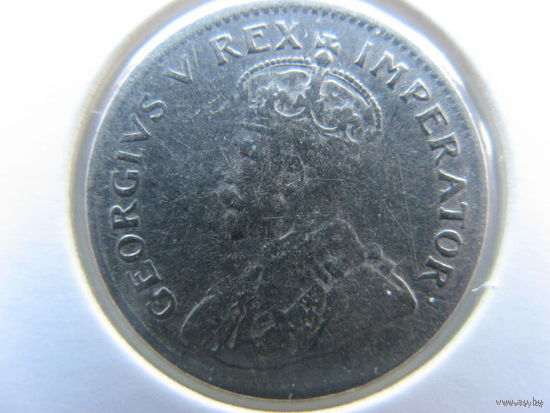 Южная Африка 3 пенса 1932 г. серебро